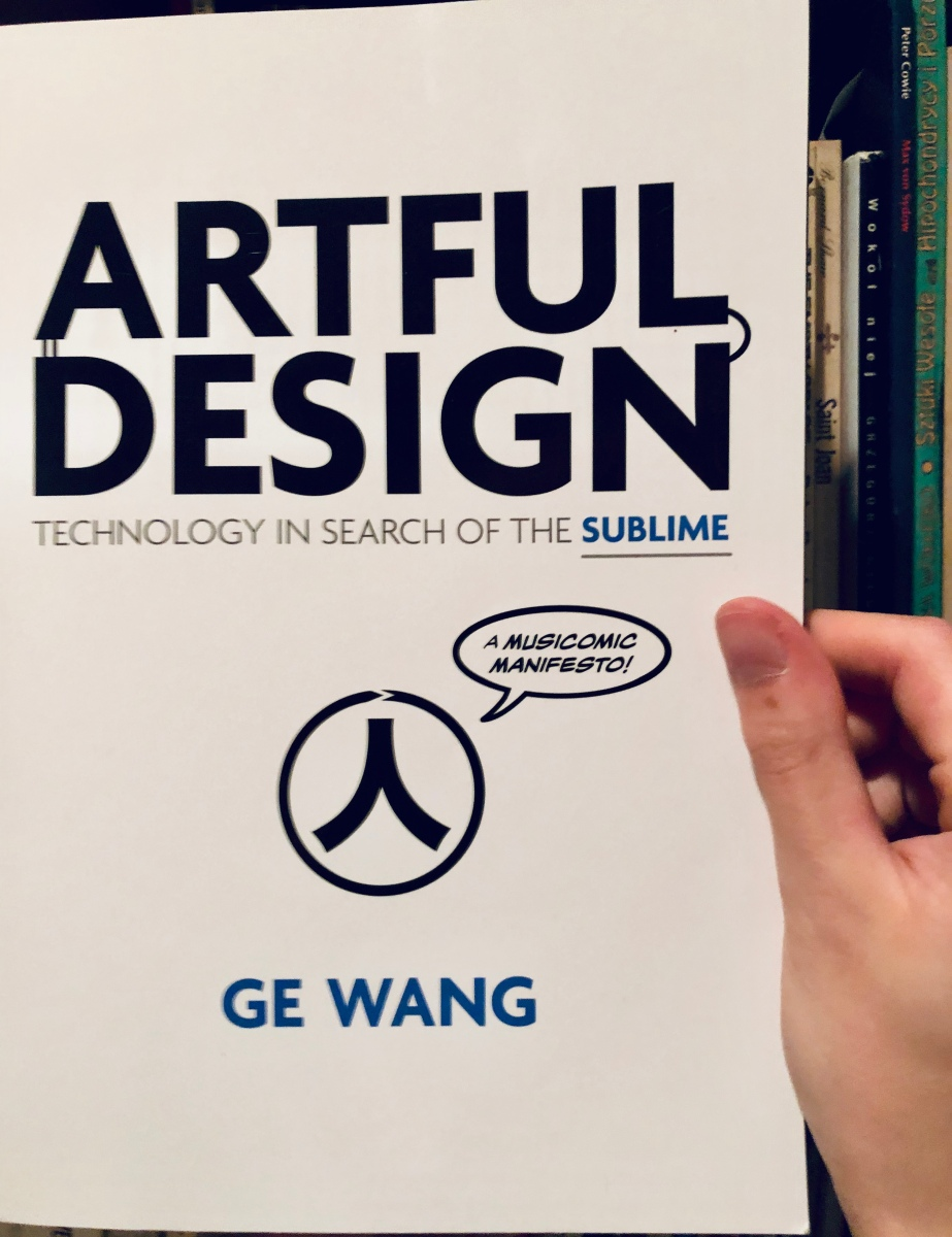 img 2691 Book Review: Artful Design is a search through the sublime