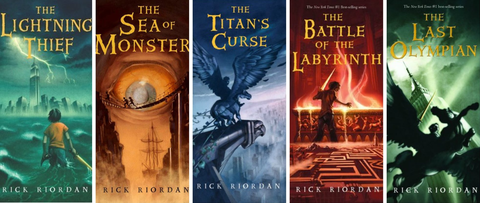 The Percy Jackson Series