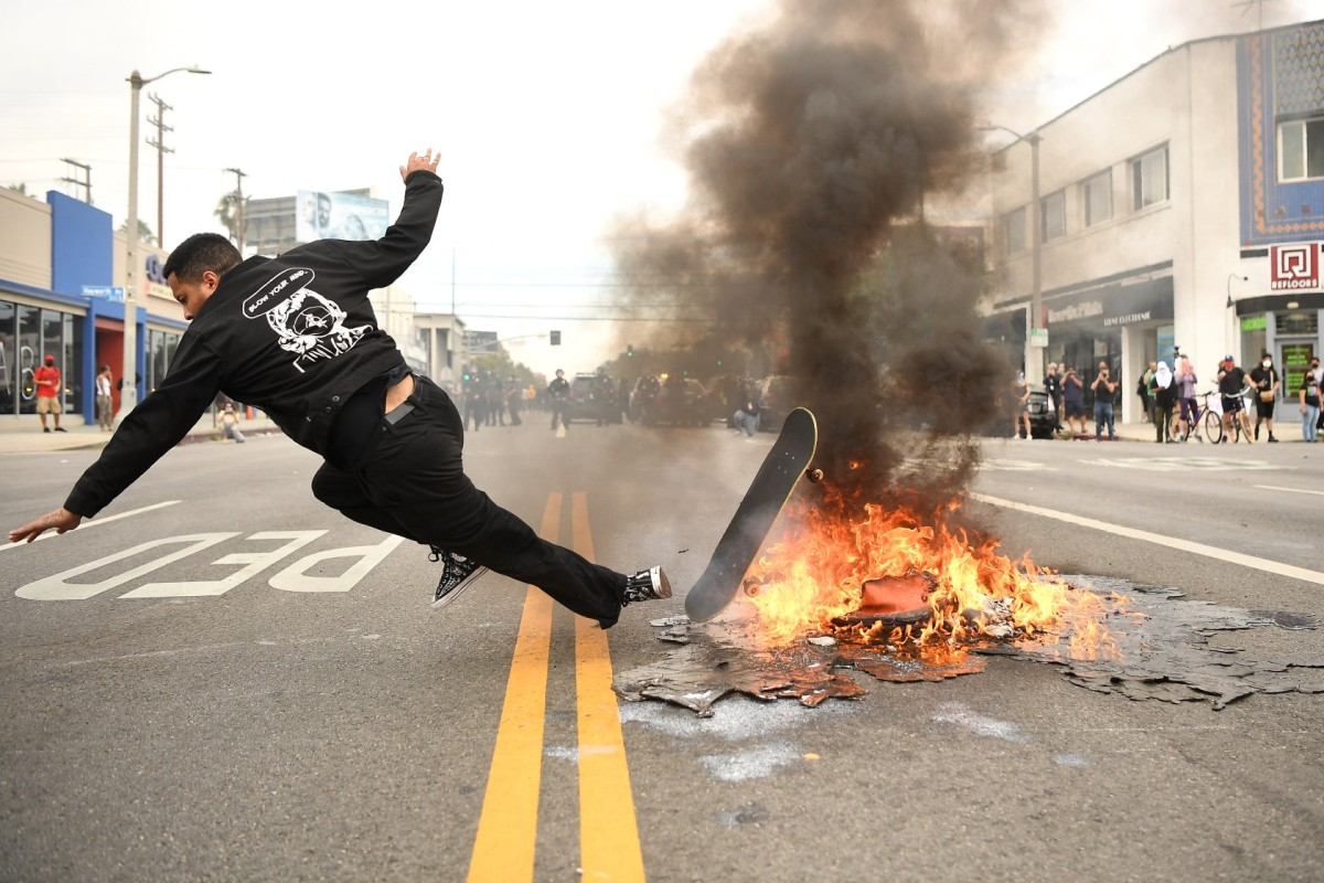 Column: The protests are awesome, the crime is not